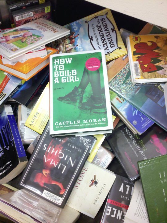 How To Build A Girl book in bookdrop
