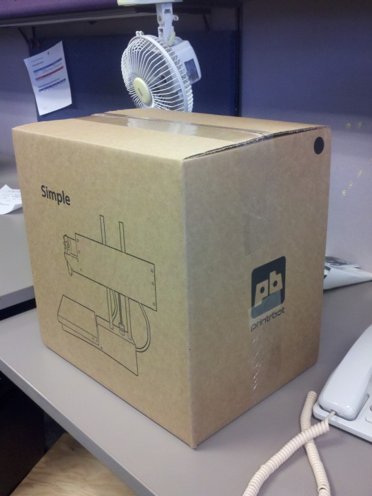 3d printer in box