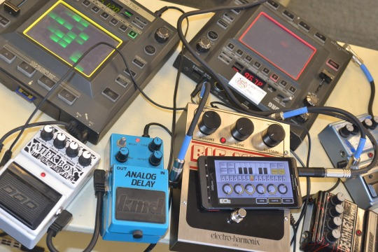 assorted syntesizers and effects