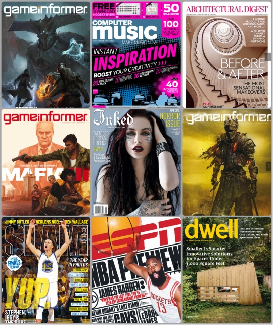 zinio magazine covers