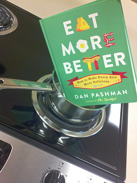 book cover for eat more better