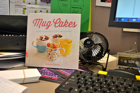 microwave cakes book